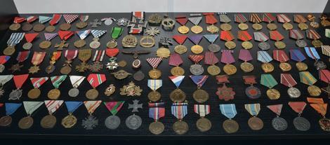 U kolekciji je i 110 ratnih i mirnodopskih ordena