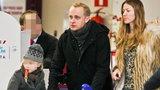 Piotr Adamczyk tęskni za dziećmi Kate Rozz