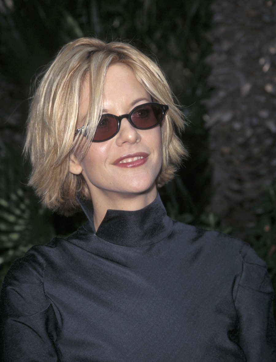 Meg Ryan w latach 90. / Getty Images / Ron Galella