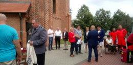 Atak gazem w kościele w Łasku. Są ranni