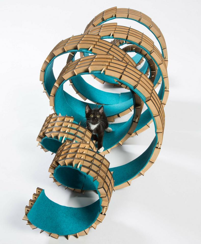 Niezwykłe domy dla kotów. Stworzyli je uznani architekci