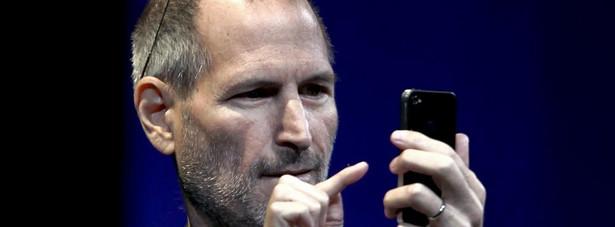 Najbardziej cennym szefem na świecie jest Steve Jobs z Apple'a.