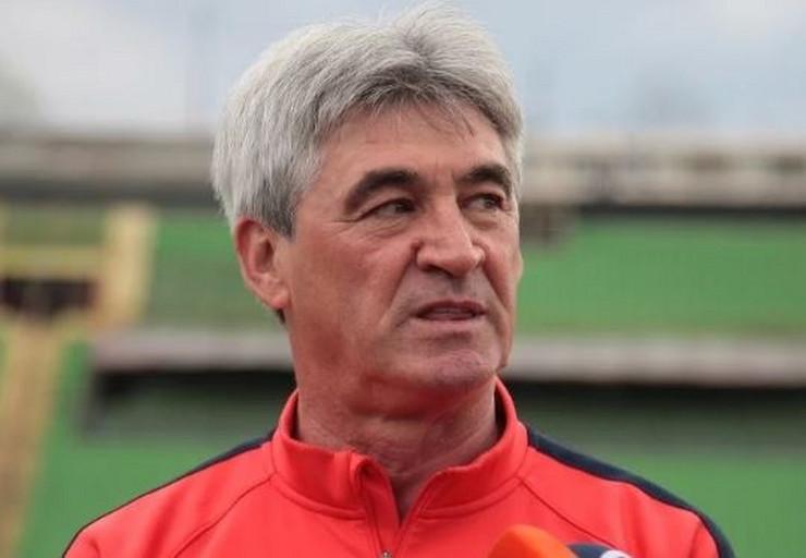 Mehmed Janjos trener FK Sarajevo