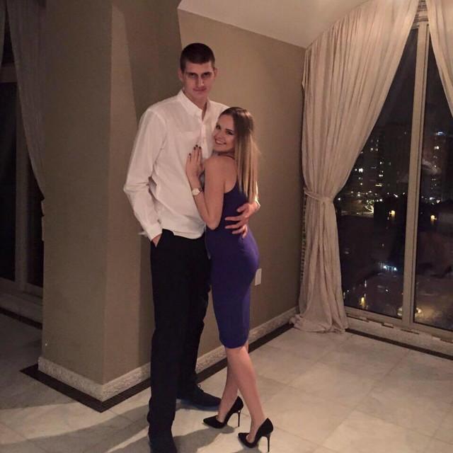 Natalija Maćešić i Nikola Jokić