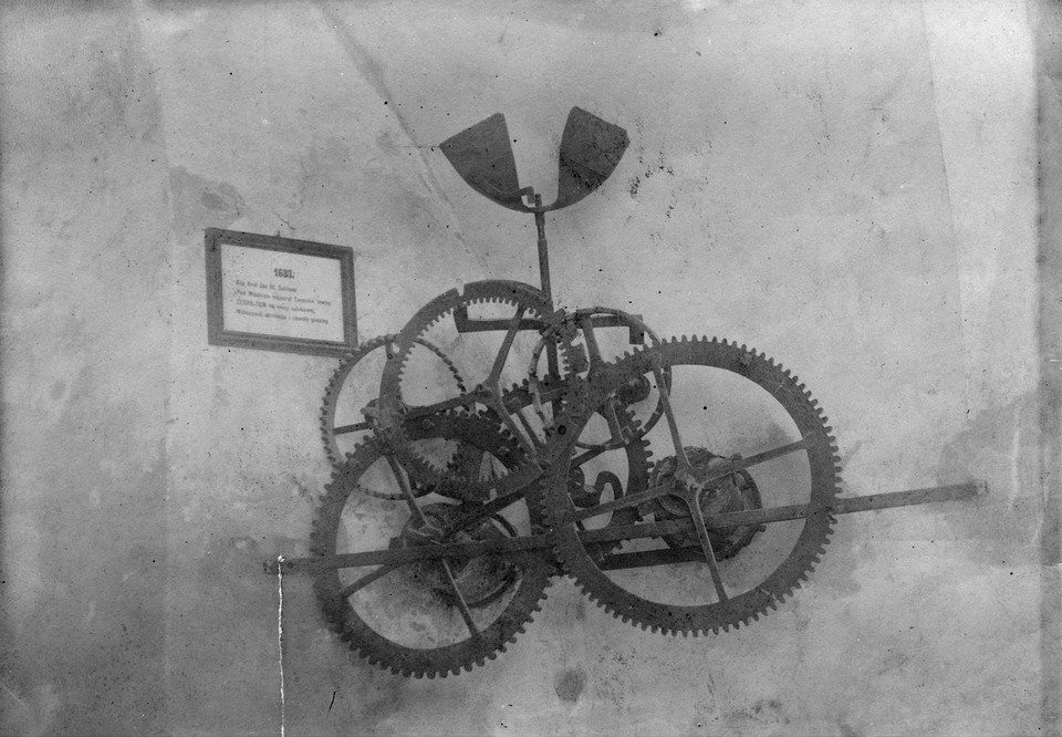 Mechanizm zegara zamku Podhorce (1925)