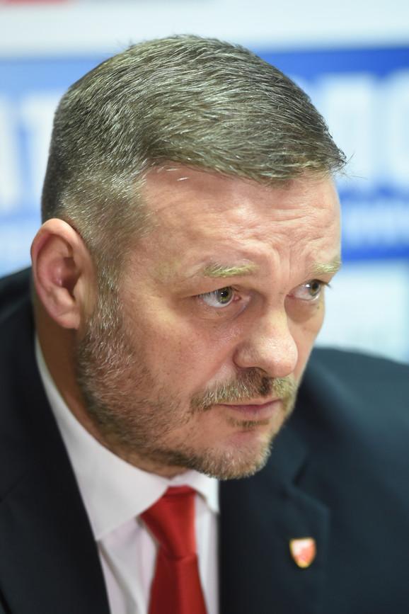 Direktor VK Crvena zvezda Igor Milojević