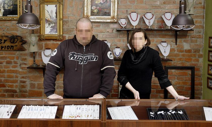 Jubilerka pogoniła złodzieja ze sklepu
