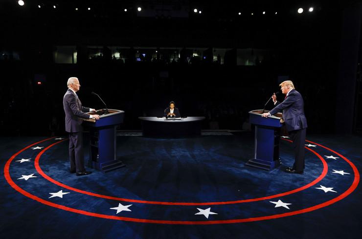 Donald Tramp, Džo Bajden, debata