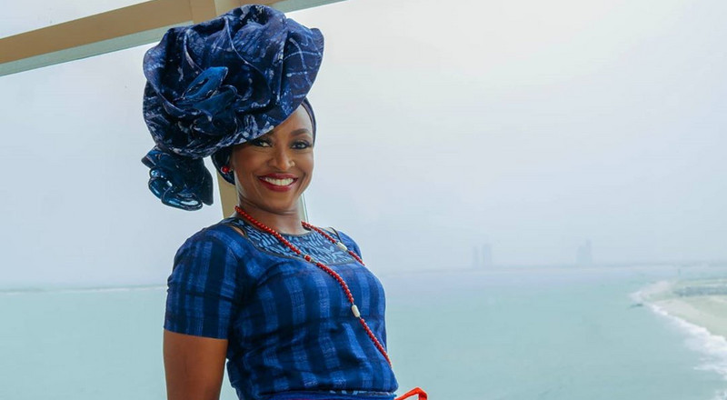 Kate Henshaw oozes elegance and style in Adire outfit