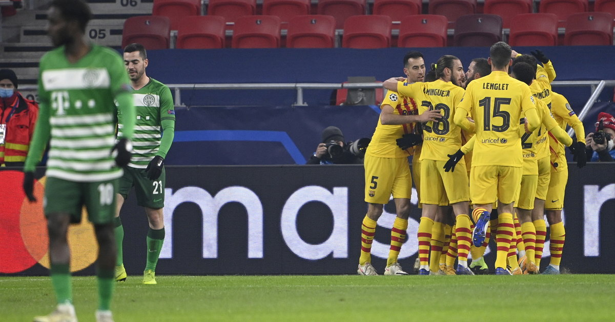Liga Mistrzów. Ferencvaros - Barcelona. Leo Messi nieobecny, kanonada Blaugrany - Sport