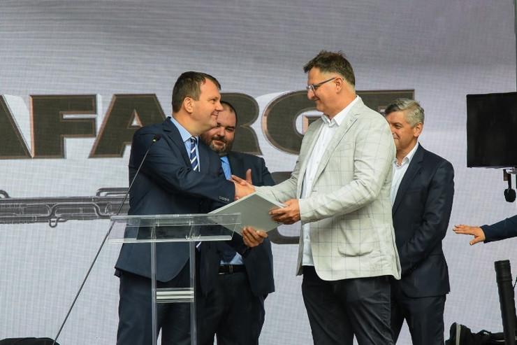 Igor Mirović, Lafarž