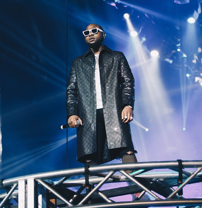 Davido shut down The O2 Arena over the weekend