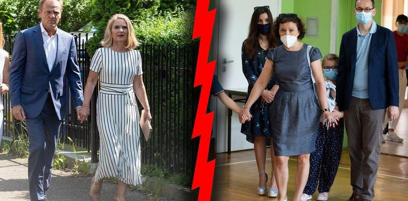 Modowa bitwa żon premierów. Która wypadła lepiej – Morawiecka czy Tusk?