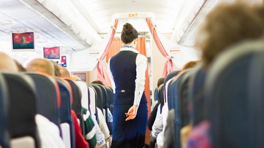 Kłótnia w samolocie