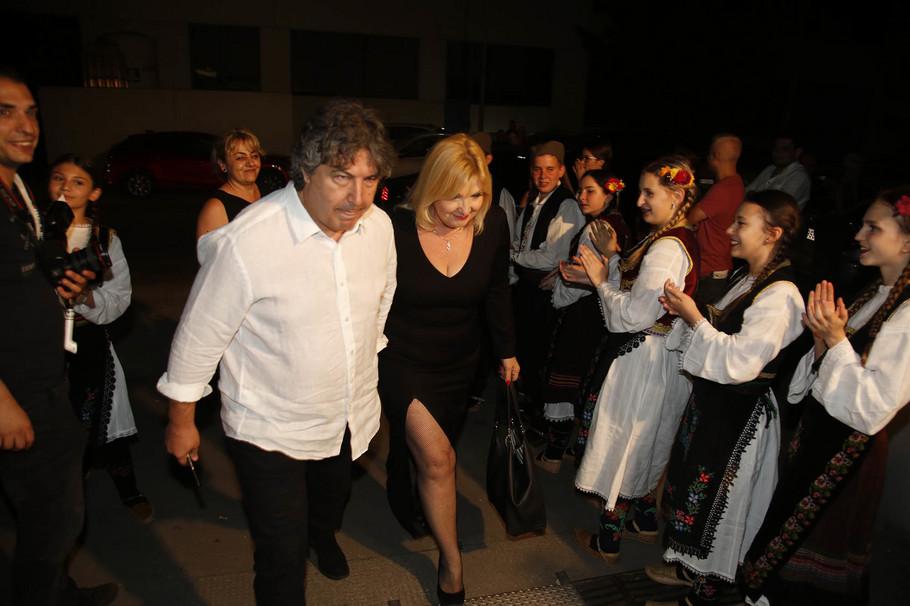 Snežana Đurišić i njen partner Vanja
