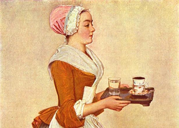 "Jean-Étienne Liotard ""The Chocolate Girl"""