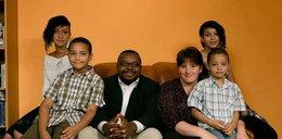 Oto rodzinka naszego czarnoskórego posła!