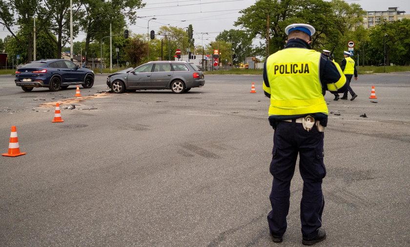 Łódź: 3 dzieci rannych w wypadku spowodowanym przez pijanego kierowcę