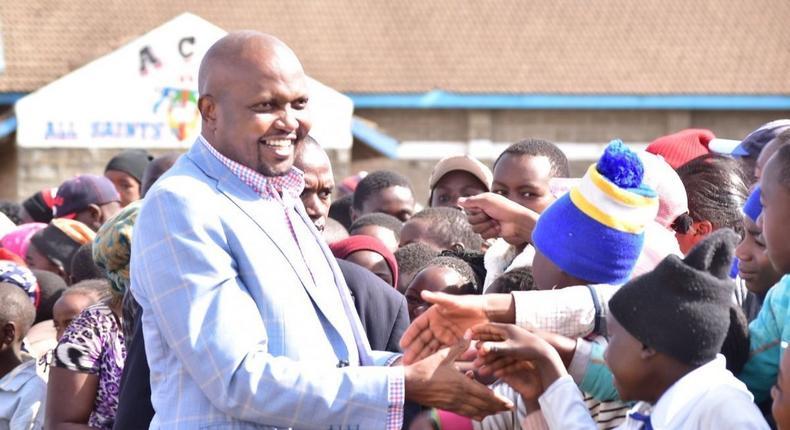 File image of Moses Kuria