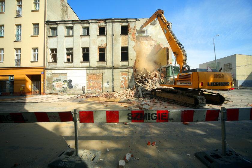 Katastrofa budowlana w Łodzi. Runęła kamienica