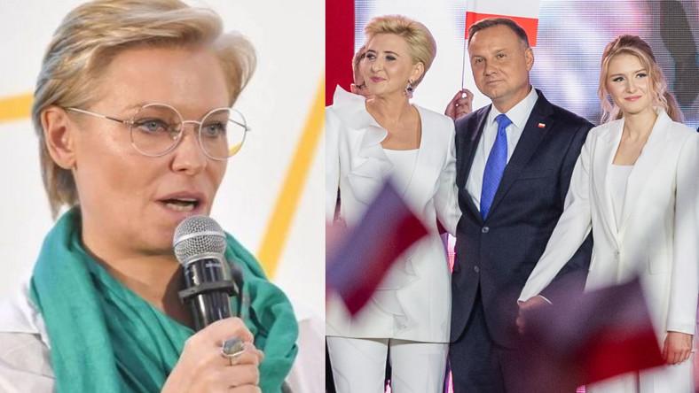 Paulina Młynarska, Andrzej Duda, Kinga Duda, Agata Duda