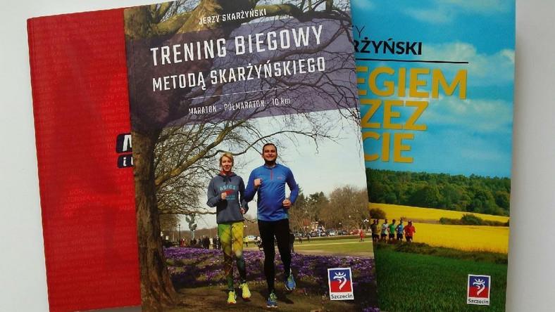 """02732274 Książka: """"Trening biegowy metodą Skarżyńskiego"""" - Czas na bieganie"""