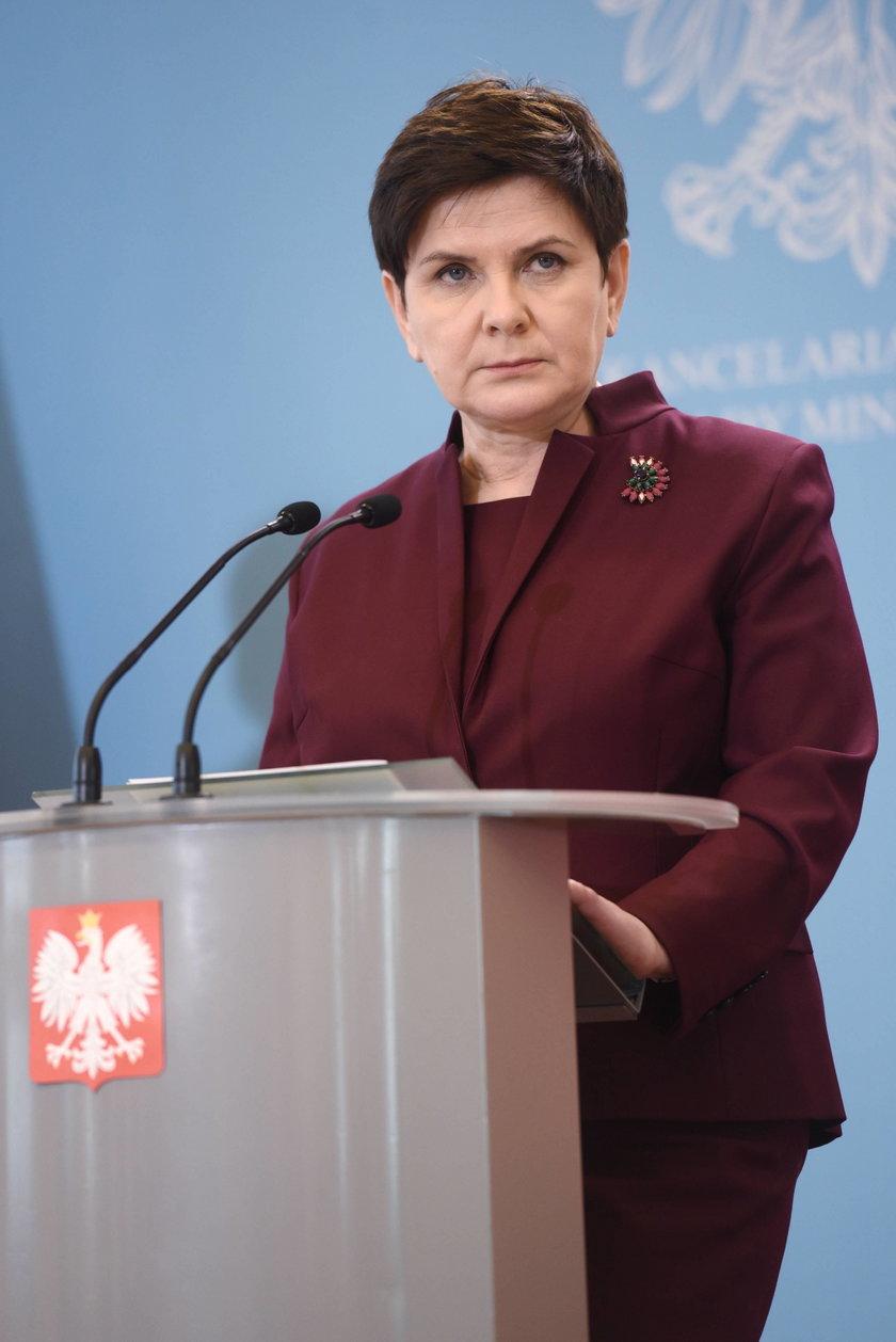 Premier Szydło