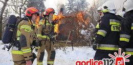 Tragiczny pożar domku w lesie. Nie żyje 14-latka