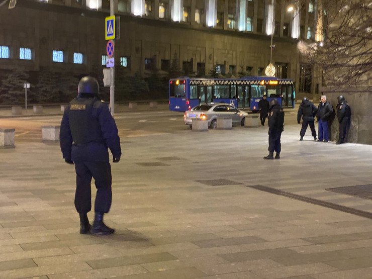 Moskva, policija, Rusija