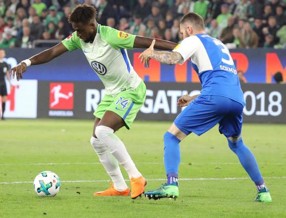 Strelac prvog gola za Volfzburg: Divok Origi