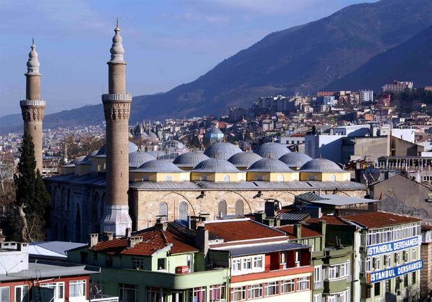 Bursa. Najpiękniejsze miejsca Turcji
