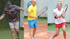 Gwiazdy na turnieju tenisowym Narvil Gentlemen's Tennis Cup