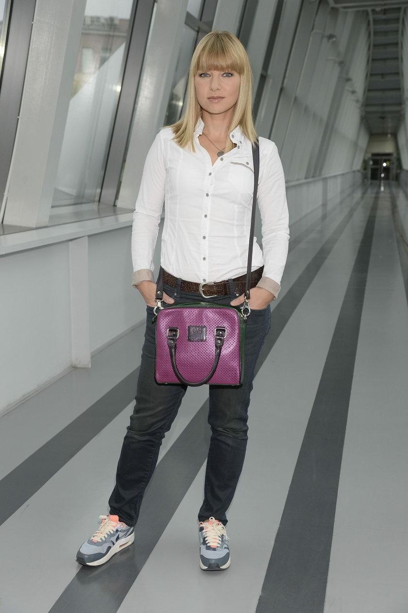 Katarzyna Bujakiewicz w adidasach