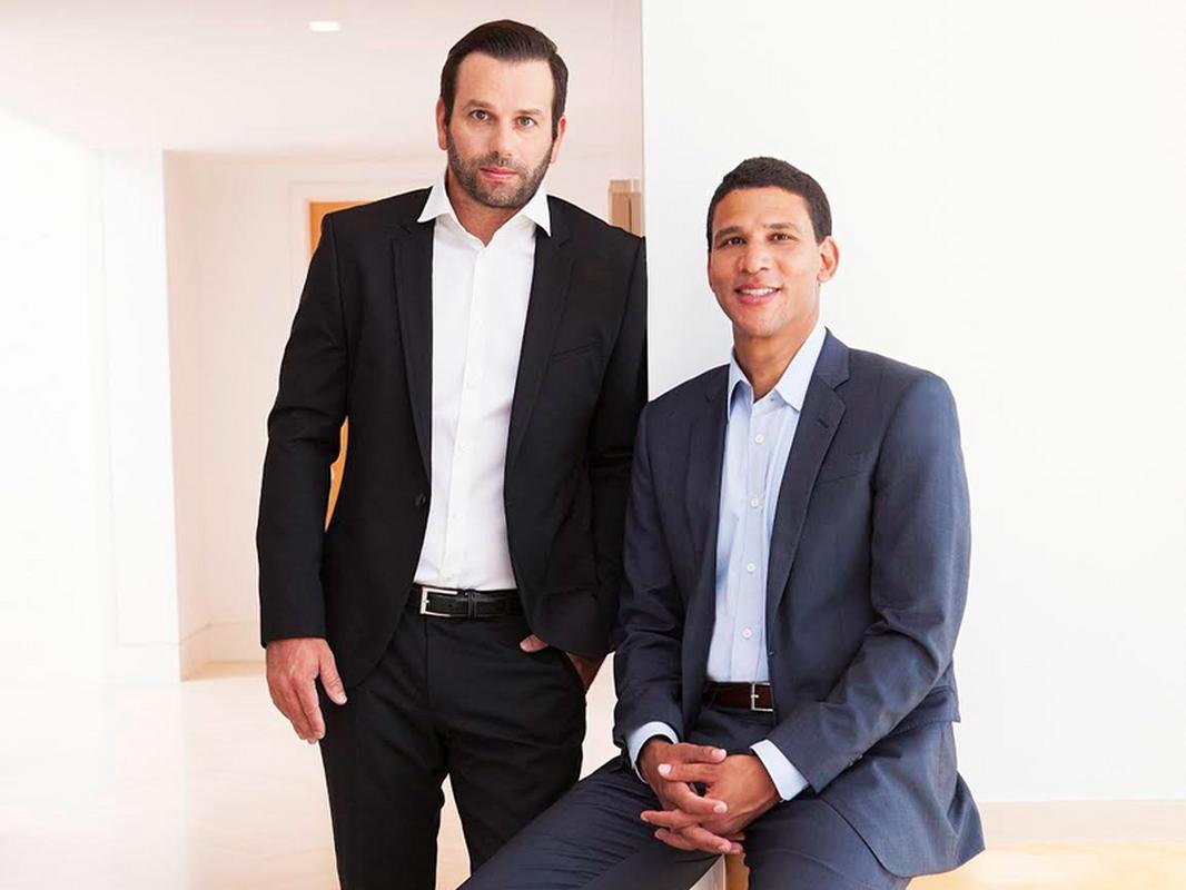 Ori Allon i Robert Reffkin, założyciele firmy Compass