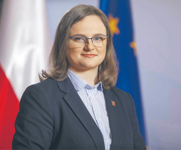 Anna Chałupa, zastępca szefa Krajowej Administracji Skarbowej.