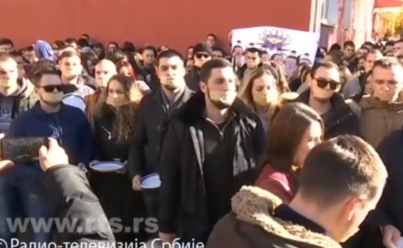 studenti, mitrovica, kosovo, protesti, protest studenata