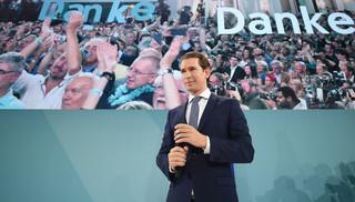 Wstępne wyniki wyborów w Austrii: Rekordowe zwycięstwo chadeków Kurza
