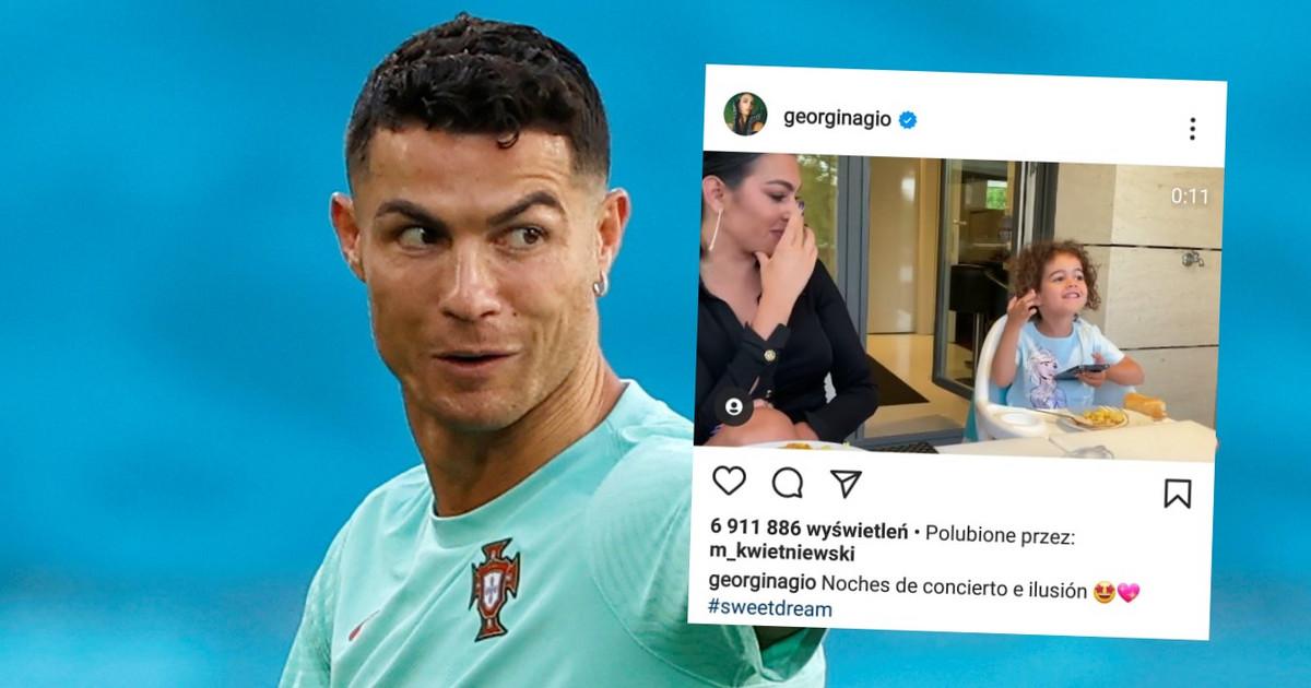 Euro 2020. Córka Cristiano Ronaldo skradła show. Reakcja jej ...