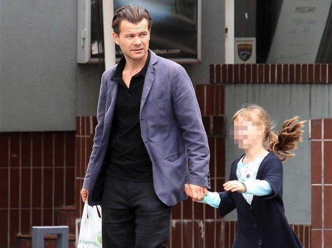 Jacek Braciak z córką