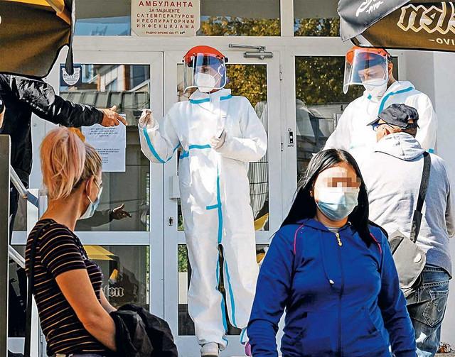 Doskora smo imali 140 pregleda dnevno, ali ove nedelje imamo 220, kaže direktor Doma zdravlja u Kragujevcu