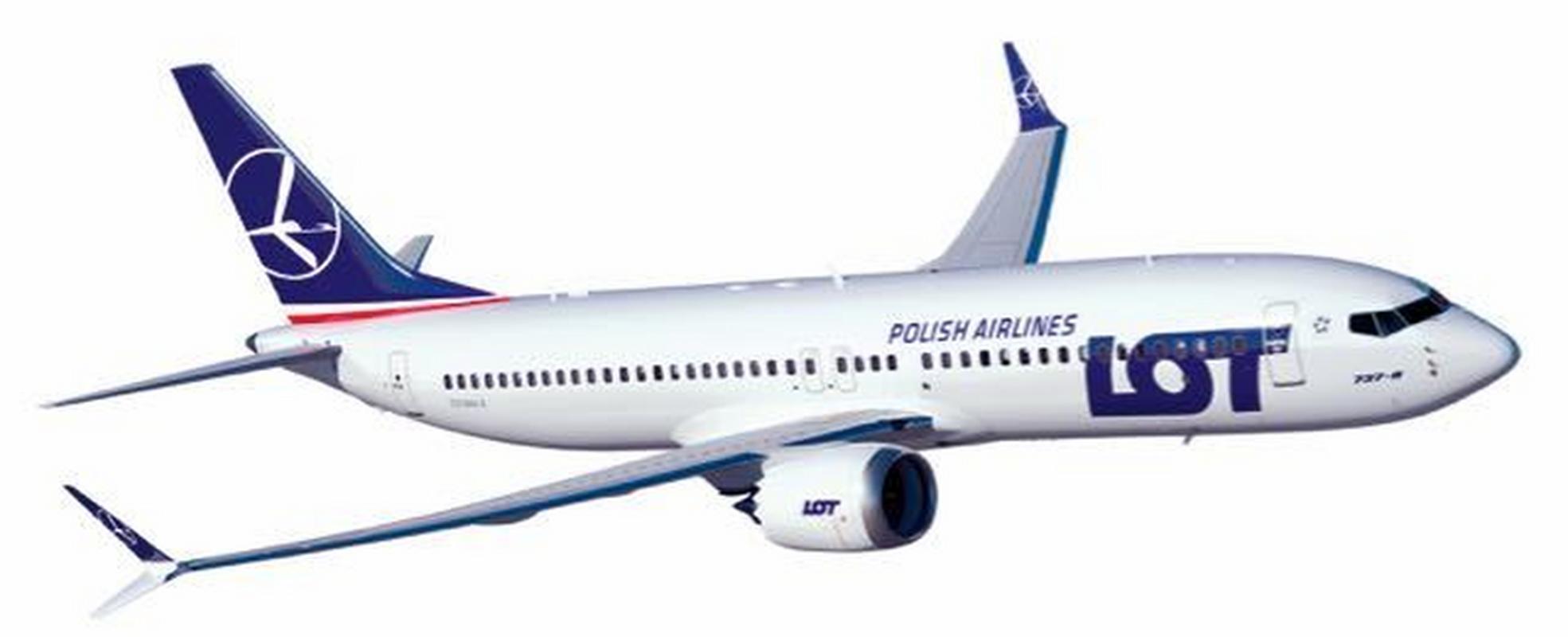 Resultado de imagen para LOT PolishAirlines Boeing 737 MAX
