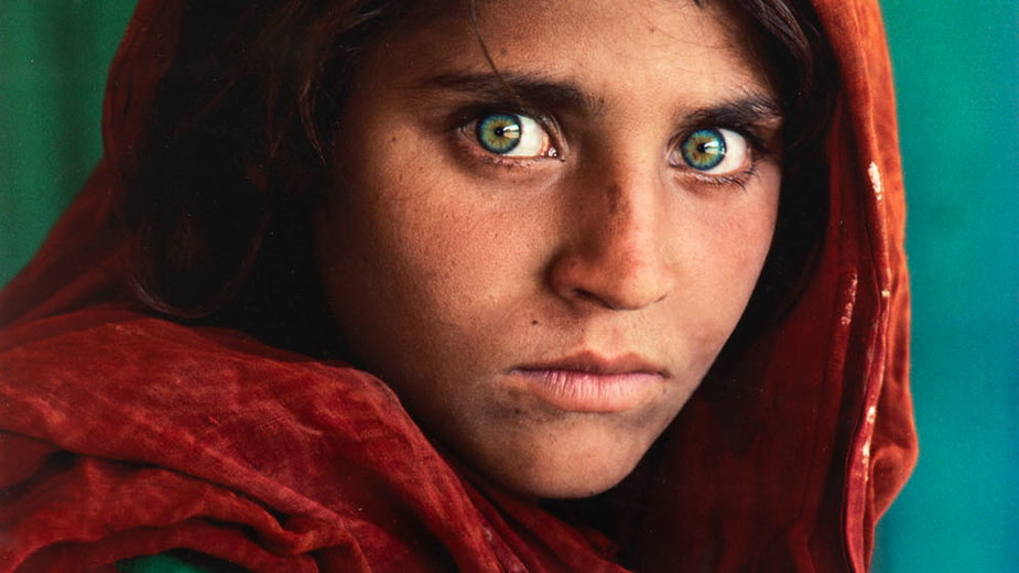 Kultowa fotografia Steve'a McCurry'ego