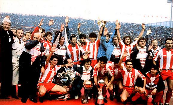 Fudbaleri Crvene zvezde u Tokiju 1991. godine