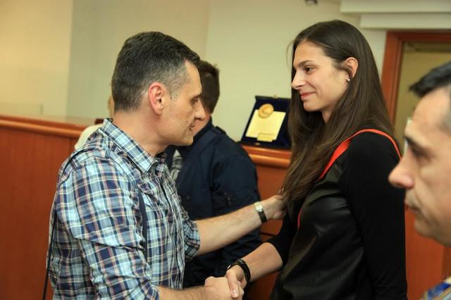 Selektor Terzić i Jovana Brakočević