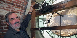 Najstarszy zegar w Łodzi. Od 92 lat wita Nowy Rok