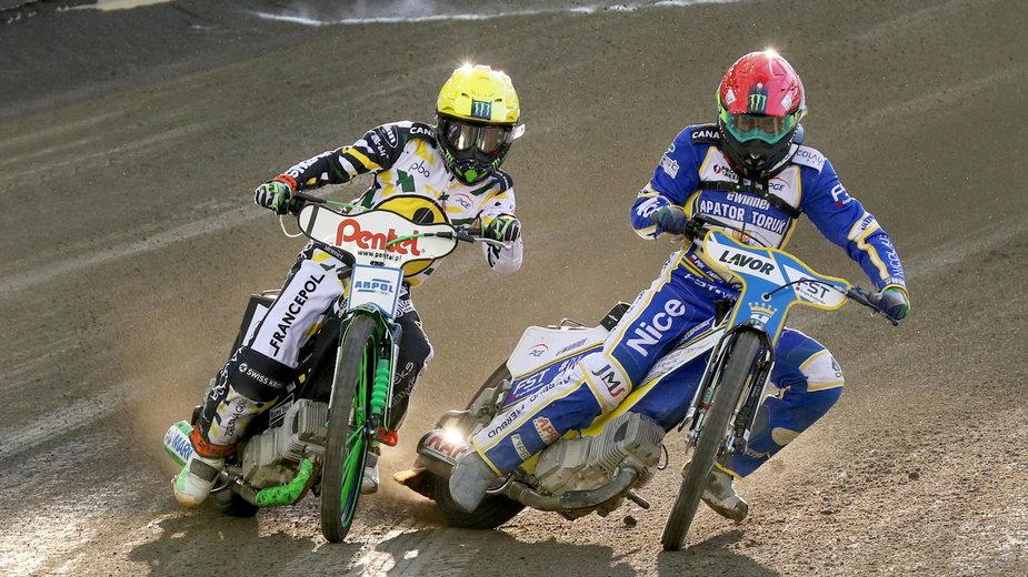 Paweł Przedpełski (z prawej) wystąpi w Grand Prix w Toruniu