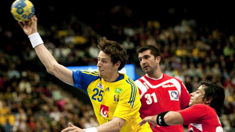 Szwedzi gładko pokonali reprezentację Chile