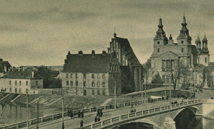 Ostrów Tumski i Chwaliszewo na starych pocztówkach