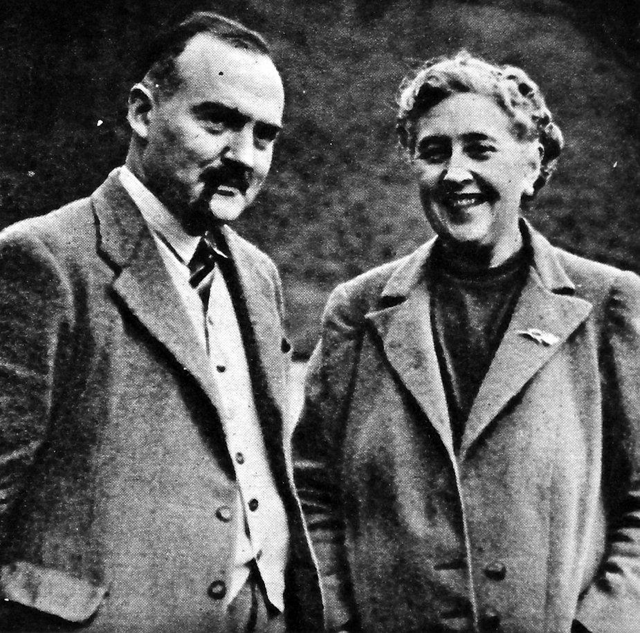 Agatha Christie i Max Mallowan