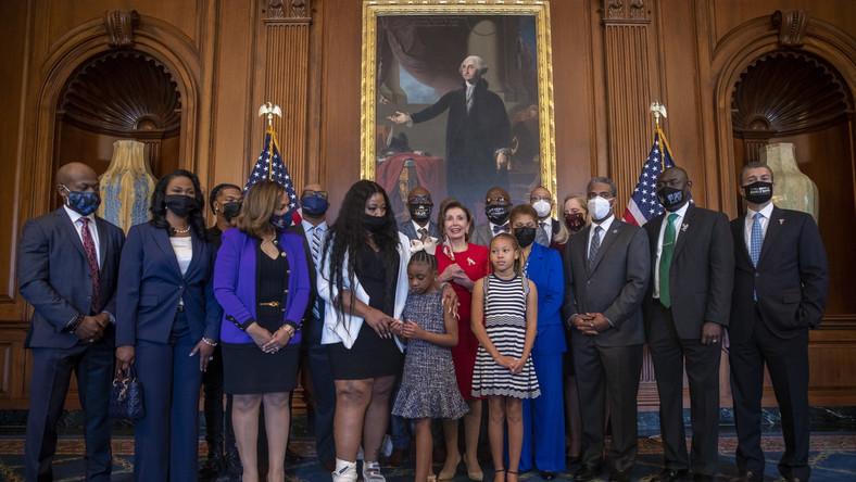 Rodzina George'a Floyda w Białym Domu